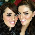 Grainne and Sile Seoige. Picture: Instagram