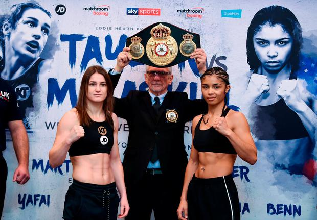 Katie Taylor goes the distance in successfully defending world title