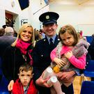 Bob Fitzsimons with his wife, Anne and their two children, son Paddy (6) and daughter Hannah (4)