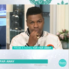 John Boyega on This Morning, ITV