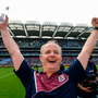 3 September 2017; Galway manager Micheál Donoghue celebrates after the GAA Hurling All-Ireland Senior Championship Final match between Galway and Waterford at Croke Park in Dublin. Photo by Piaras Ó Mídheach/Sportsfile
