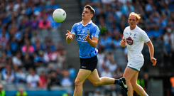 16 July 2017; Brian Howard of Dublin during the Leinster GAA Football Senior Championship Final match between Dublin and Kildare at Croke Park in Dublin. Photo by Ray McManus/Sportsfile