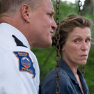 Woody Harrelson and Frances McDormand in Three Billboards Outside Ebbing Missouri