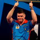 Daryl Gurney. Photo: Steven Paston/PA Wire
