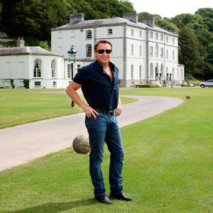 Michael Flatley at his palatial €20m home in Castlehyde, Co Cork