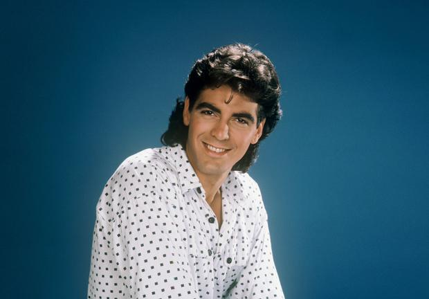 George Clooney in the Facts of Life in the 1980s