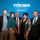 John McDonagh, Marie McDonagh, Pat McDonagh and Una McDonagh of Supermac's with Seán Farrell of Trócaire at the Supermac's Trócaire Fundraiser Night at the Loughrea Hotel and Spa, Co Galway