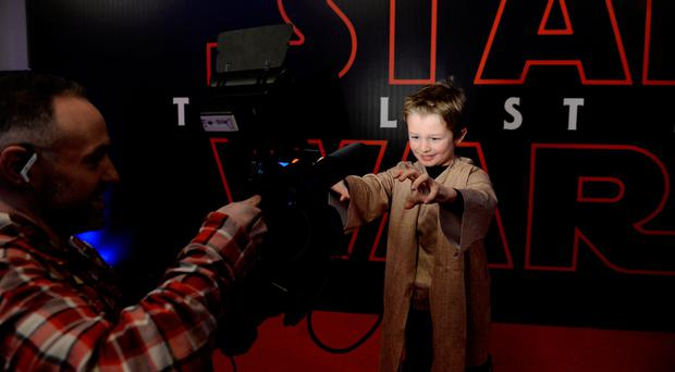 Force is strong for young and old as Star Wars storms into Dublin's Savoy
