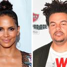 Halle Berry, left, Alex Da Kid, right