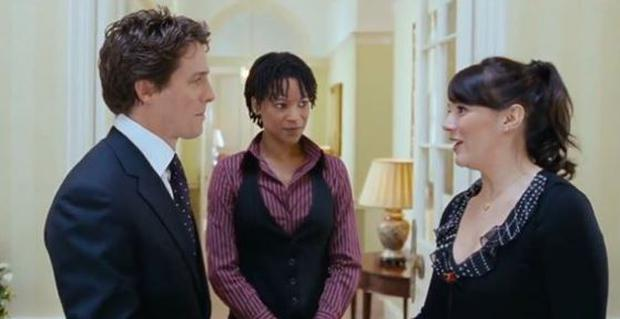 A scene from Love, Actually