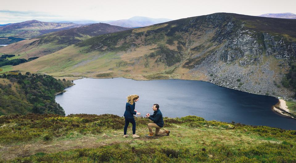 This Surprise Real Engagement Captured At Lough Tay Will