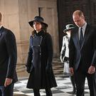 Britain's Prince Charles, The Duchess of Cornwall, Prince William, The Duchess of Cambridge and Prince Harry attend St Paul's Cathedral for a memorial service in honour of the victims of the Grenfell Tower fire, in London, Britain, December 14, 2017. REUTERS/Stefan Rousseau/Pool