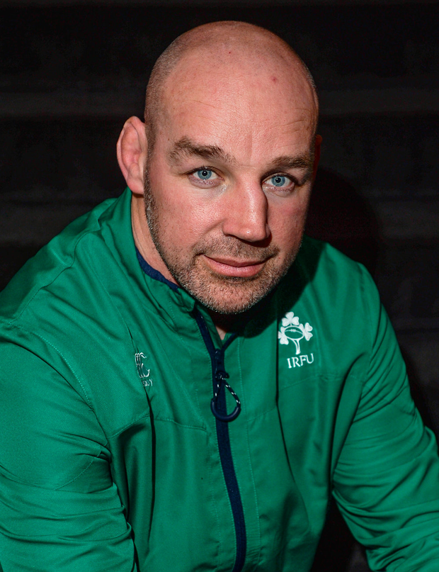Munster A coach Pete Malone. Photo by Eóin Noonan/Sportsfile