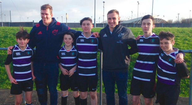 Farrell and O'Donnell support Thomond blitz