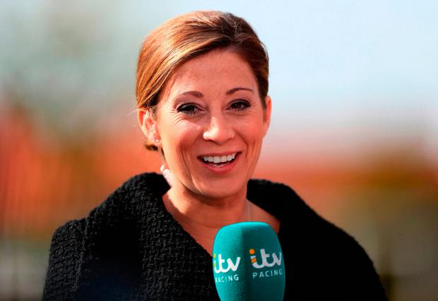 Jockey and racing pundit Hayley Turner. Photo: John Walton/PA