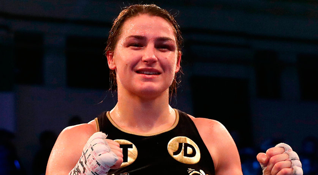 Taylor looks to unify world titles in Dublin next April