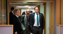 Taoiseach Leo Varadkar arriving for the European Council Summit. Photo by Peter Cavanagh Photography