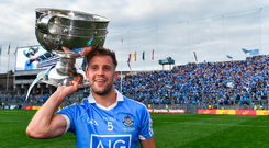 Dublin's Jonny Cooper celebrates All Ireland glory this year