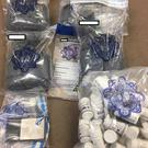 Pictured: the drugs seized by gardai