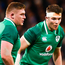 Peter O'Mahony and Tadhg Furlong. Photo: Sportsfile