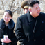 North Korean leader Kim Jong-un and his sister Kim Yo Jong, left, in 2015 during a visit to a military unit in North Korea. Photo: AP