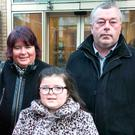 Kathleen and John Conroy with daughter Sorcha