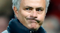 'I wondered what might have occurred were Jose Mourinho to poke his nose into the Kileeshil changing room after a Tyrone all-county league game and ask them to keep it down. Photo: PA Wire