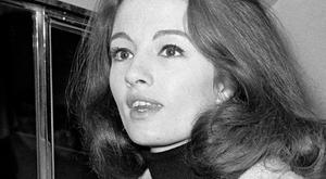 Christine Keeler who has died at the age of 75. Photo: PA