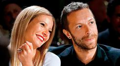 Modern family: Actress Gwyneth Paltrow and uncool Coldplay frontman Chris Martin