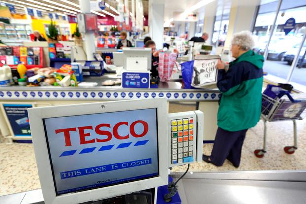 Inside a Tesco Supermarket. Photo: © 2015 Bloomberg Finance LP