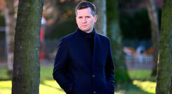 Grief is hiding in the mundane: RTE presenter Brian O'Connell, who has produced a radio documentary, Life After Loss, which will be aired on RTE Radio 1. Photo: Frank McGrath