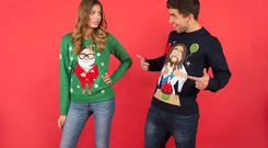 Funky Christmas jumpers