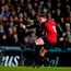 17 December 2017; Ian Keatley of Munster kicks a penalty during the European Rugby Champions Cup Pool 4 Round 4 match between Leicester Tigers and Munster at Welford Road in Leicester, England. Photo by Brendan Moran/Sportsfile
