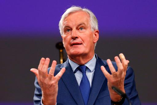 Chief Brexit negotiator for the EU Michel Barnier. Photo: Reuters