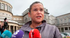 The Oireachtas Committee on Procedures and Privileges said statements made in the Dáil in 2014 by Sinn Féin deputy leader Mary Lou McDonald were an 'abuse of privilege'. Photo: Gareth Chaney Collins