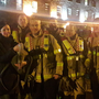 Members of the Phibsboro Fire Brigade unit with their latest rescue