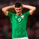 Shane Long has never fully established himself as a regular and has fallen down the pecking order. Photo by Stephen McCarthy/Sportsfile