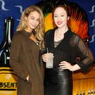Thalia Heffernan and January Russell at the launch of 1783, a new range of mixers from Schweppes. Picture: Kieran Harnett