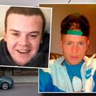 Graham McEvoy (left) has been found guilty of murdering Paul Curran (right)