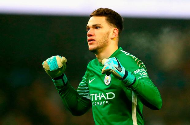 Manchester City goalkeeper Ederson. Photo: Getty Images