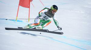 Patrick McMillan is speeding ahead with his plans to represent Ireland in Pyeongchang. Photo: