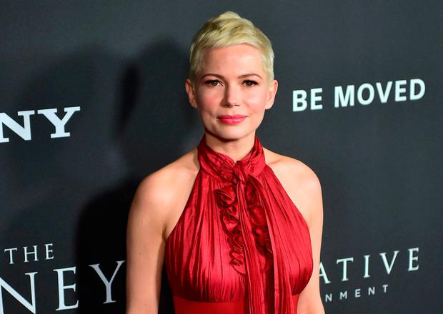 Actress Michelle Williams arrives for the premiere of the film
