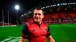 CJ Stander of Munster
