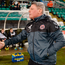 Shamrock Rovers boss Stephen Bradley (L) and Bohemians manager Keith Long won't have to wait long before renewing their rivalry. Photo: Sportsfile