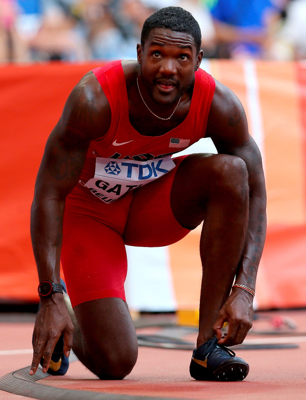 Justin Gatlin faces fresh probes of past drugs tests after revelations about his entourage this week. Photo: Getty Images