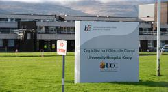 Scans at University Hospital Kerry are being reviewed. Picture: Domnick Walsh