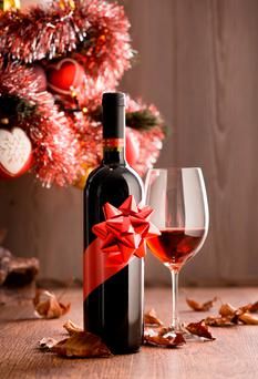 A good bottle of wine is a welcome present
