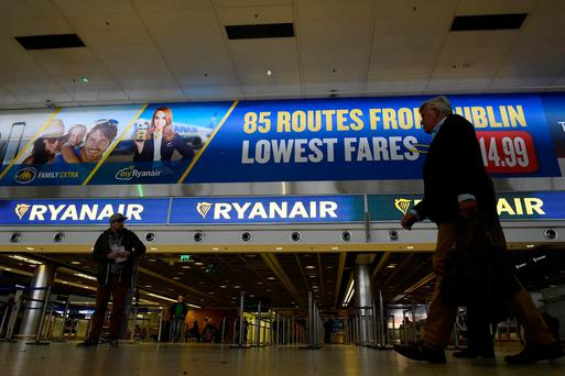 Ryanair pledges recognition of Irish trade union