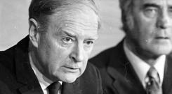 Former Taoiseach Liam Cosgrave. Photo: Independent Newspapers Ireland/NLI Collection