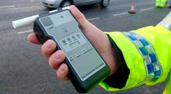 An intoxilyser of the type used by gardaí for testing drivers.